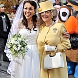 Ann Curry and Meredith Vieira