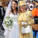 Ann Curry and Meredith Vieira