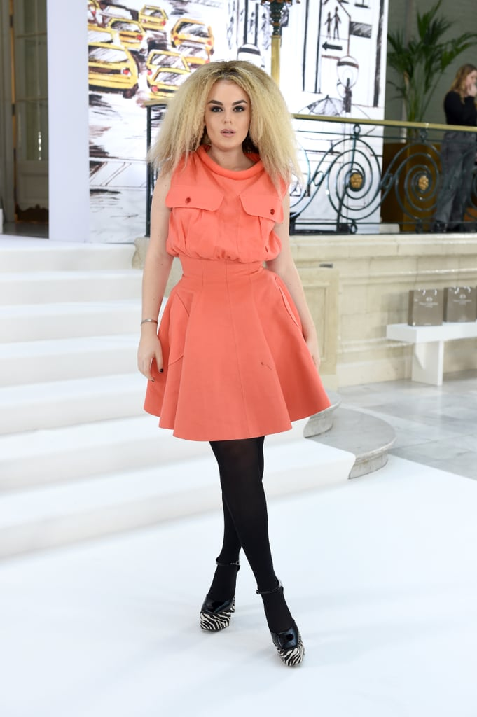 Tallia Storm at the Paul Costelloe Fall 2020 Show
