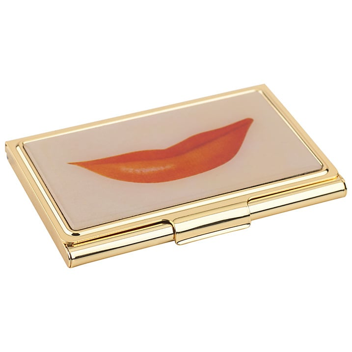 Kate Spade Lips Business Card Holder (£31)