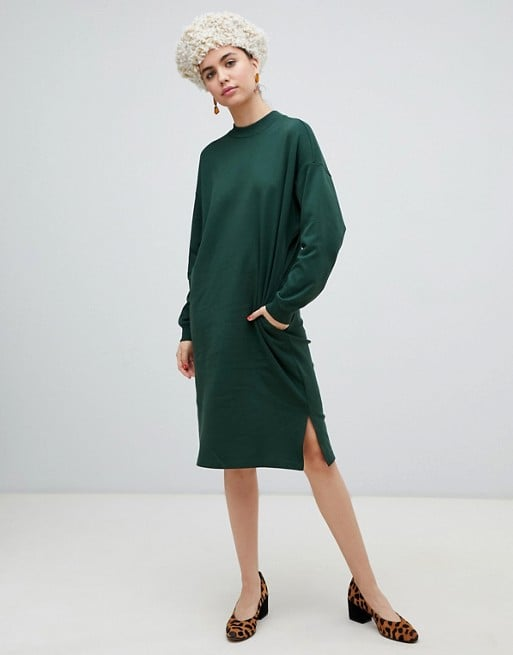Monki Jersey Midi Dress