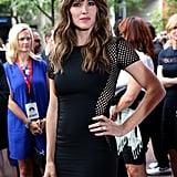 Jennifer Garner let her hair down at the Men, Women & Children premiere.