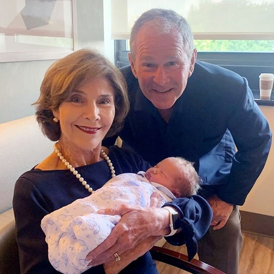 George W. Bush Mad About Jenna Bush Hager's Baby's Name