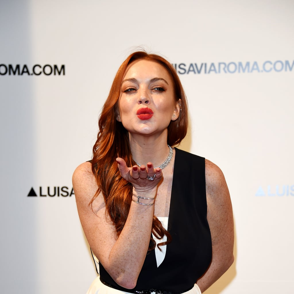 Is Lindsay Lohan Launching a Makeup Line?