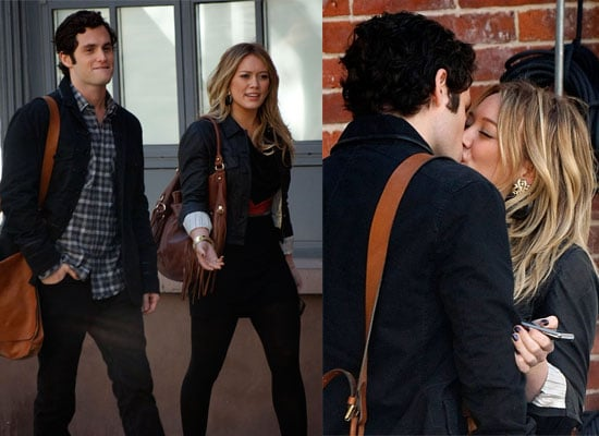 Gallery of Pictures of Hilary Duff and Penn Badgley Kissing on the Gossip Girl Set, Season 3 of Gossip Girl Starts Tonight ITV2