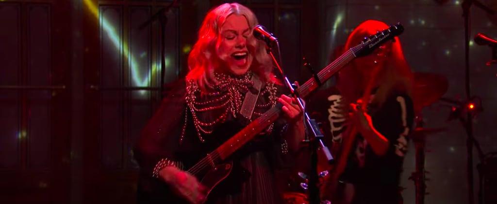 See Phoebe Bridgers Smash Her Guitar on SNL | Video