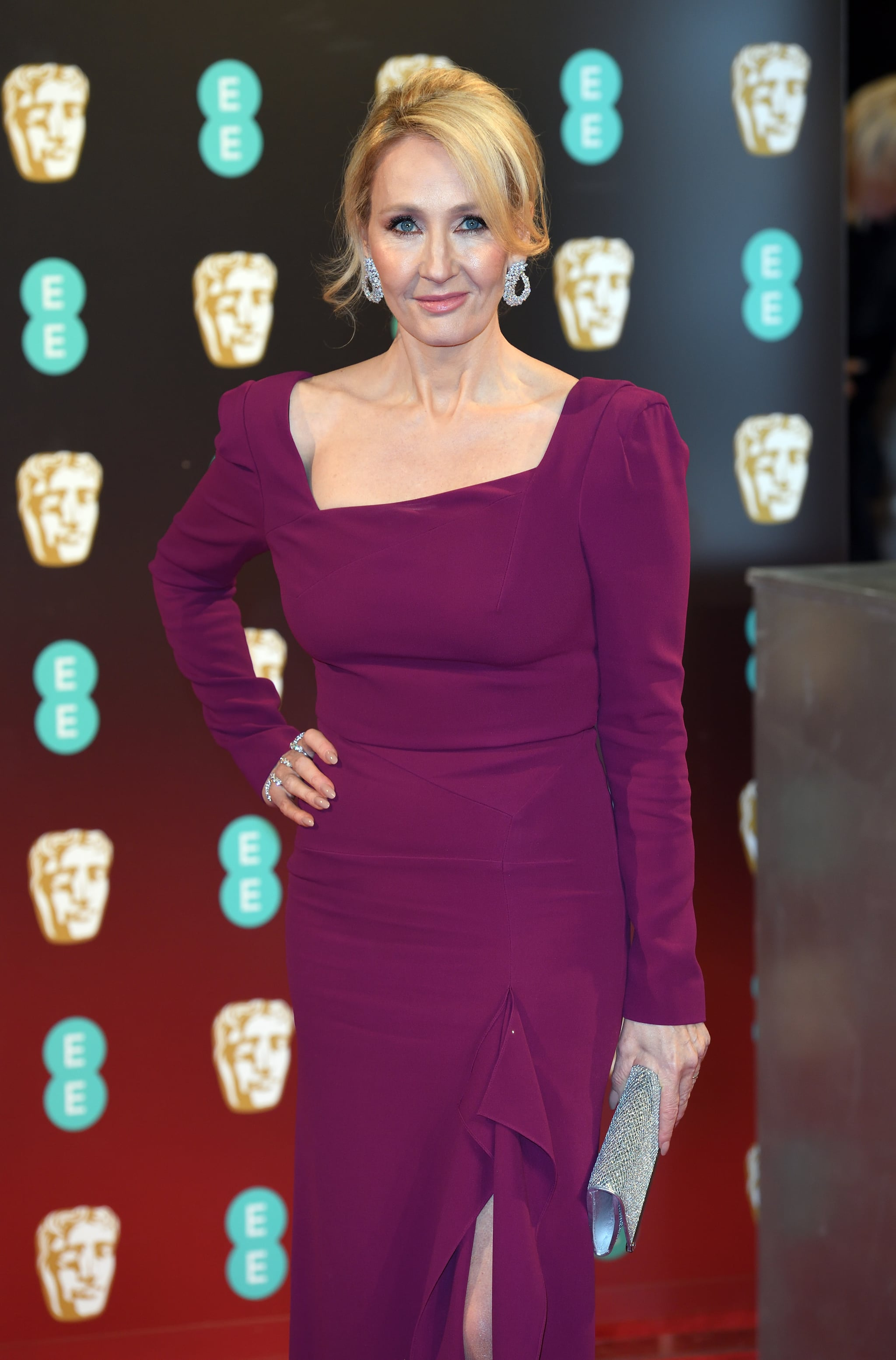 LONDON, ENGLAND - FEBRUARY 12:  JK Rowling attends the 70th EE British Academy Film Awards (BAFTA) at the Royal Albert Hall on February 12, 2017 in London, England.  (Photo by Karwai Tang/WireImage)