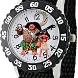 Disney Moana Black Strap Watch