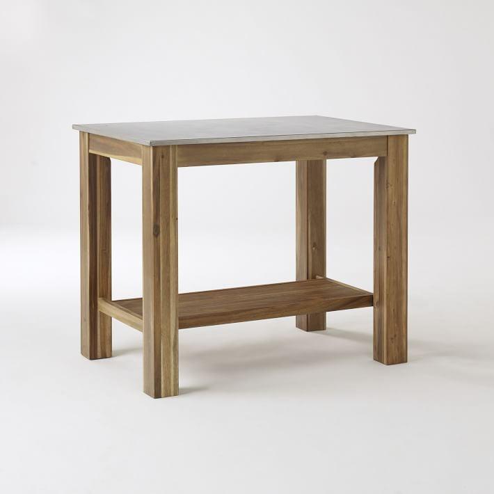 Rustic Island Table