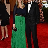 Ivanka Trump, who is pregnant with her second child, and her husband, Jared Kushner, got dressed up for the affair.