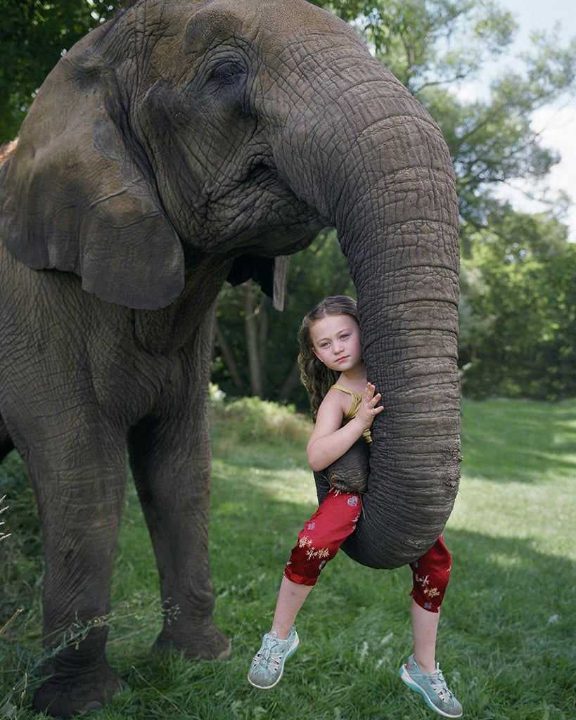 Photographer's Photos of Daughter and Animals