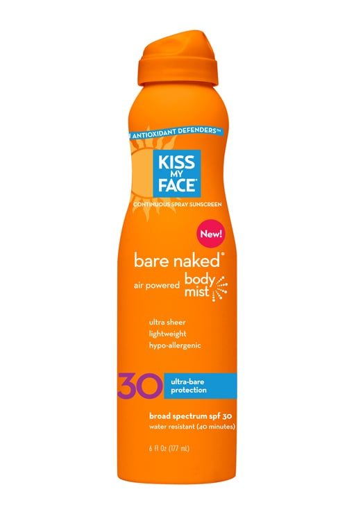 Kiss My Face Bare Naked SPF 30 Air Powered Body Mist