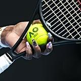 Serena Williams Manicure At the Australian Open