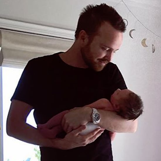 What Did Aaron Paul and Lauren Parsekian Name Their Baby?