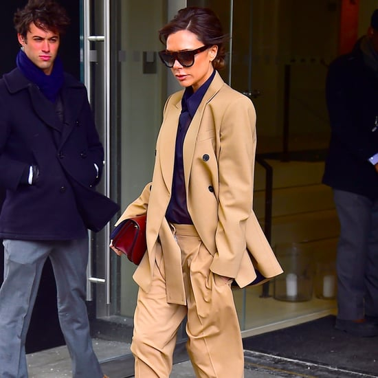 Victoria Beckham Wearing Alaia Boots March 2017