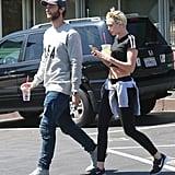 Miley Cyrus and Patrick Schwarzenegger in LA   Pictures