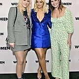 Caroline Ailin,  Bebe Rexha, and Emily Warren at the 2020 Women in Harmony Brunch in LA