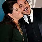 Bridesmaids costars and real-life spouses Ben Falcone and Melissa McCarthy make for a fun pair.