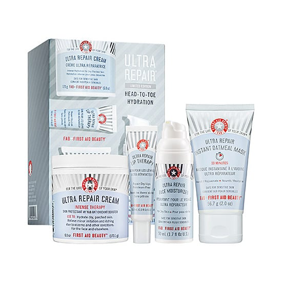 The holidays can be a drain on your skin, but First Aid Beauty Ultra Repair Head-to-Toe Hydration Kit ($42) will get your skin back to normal during your post-Christmas detox.