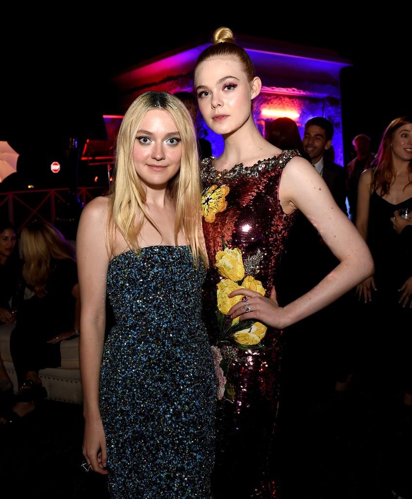 Elle and Dakota Fanning at the Neon Demon Premiere 2016 ...