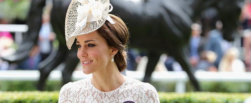 Duchess Kate's Dolce and Gabbana Dress at Royal Ascot 2016