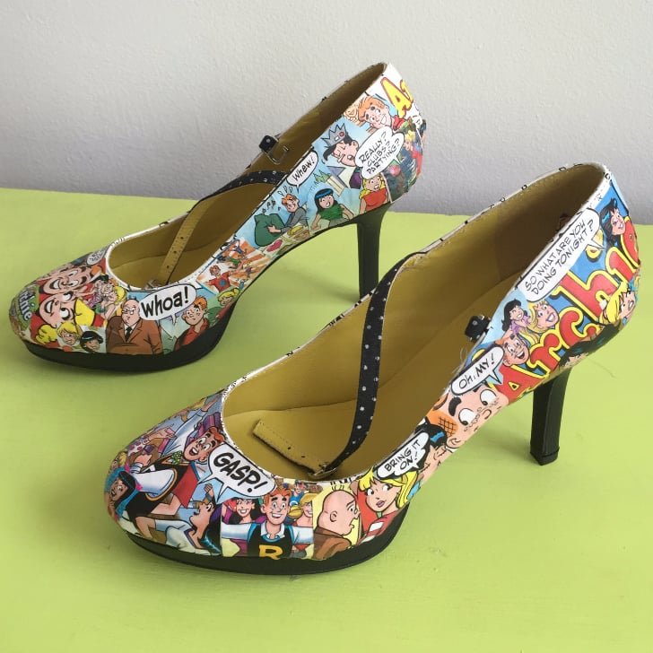 f189be4c32f1 DIY Comic Book Shoes