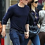 Daniel Craig and Rachel Weisz were affectionate in NYC.