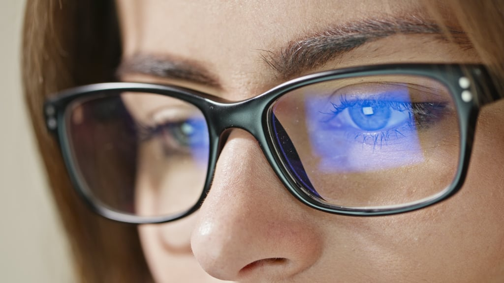 Wear Blue-Light-Blocking Glasses