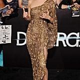 Shailene at the LA Divergent Premiere