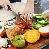 Cut vegetables uniformly.