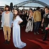 Angus and Julia Stone, ever whimsical, on the red carpet.