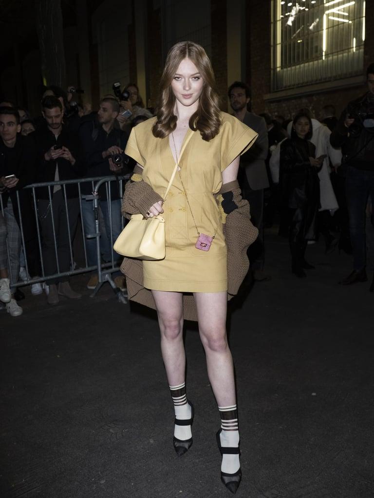 Larsen Thompson at Milan Fashion Week 2020