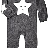 Elegant Baby Unisex Star Knit Coverall