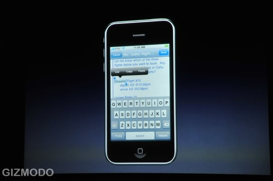 iPhone OS 3.0 Reveals Copy/Paste, MMS, Landscape Keyboard