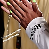 Tommy Hilfiger's Neon Green Nails at LFW Autumn 2020