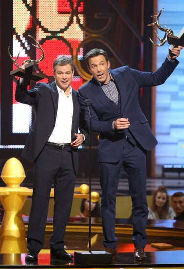 Matt Damon and Ben Affleck Guys Choice Awards Speech 2016
