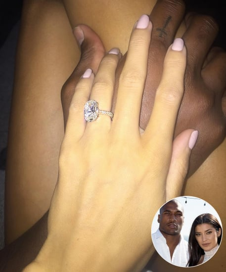 All the Details on Nicole Williams' Enormous $250,000 Engagement Ring from NFL Player Larry English
