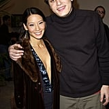 John Mayer towered over Lucy Liu at VH1's Big in 2002 Awards.