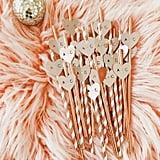 Bachelorette Straws