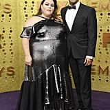 Chrissy Metz and Donnie Berry at the 2019 Emmys