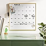 U Brands Dry Erase Calendar Message Board