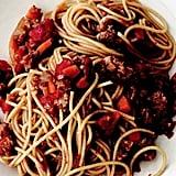 "Easy Vegetarian Recipe: Spaghetti ""Bolognese"""