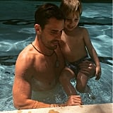 """Happy Father's Day @billrancic. If our son grows up to be half the man you are, I will be happy! Thank you for showing Duke what a great dad looks like every single day. XoG,"" Giuliana Rancic wrote alongside this photo of Bill Rancic and their son."
