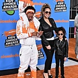 Mariah Carey and Nick Cannon Family 2018 Kids' Choice Awards