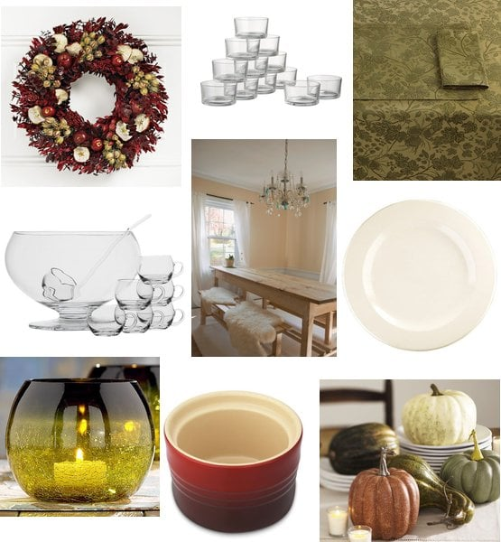 Fall Dinner Party Decorating Ideas
