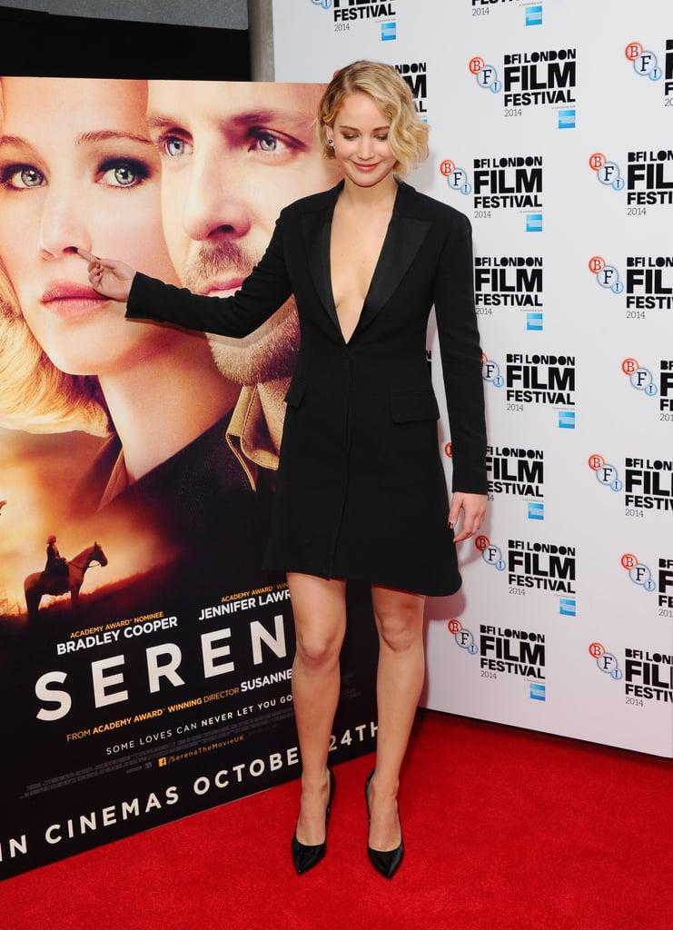 Jennifer Lawrence at Serena Premiere London Film Festival
