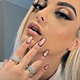Bebe Rexha's Outline Nails