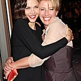 With Maggie Gyllenhaal