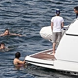 One Direction vacationed in Australia together.
