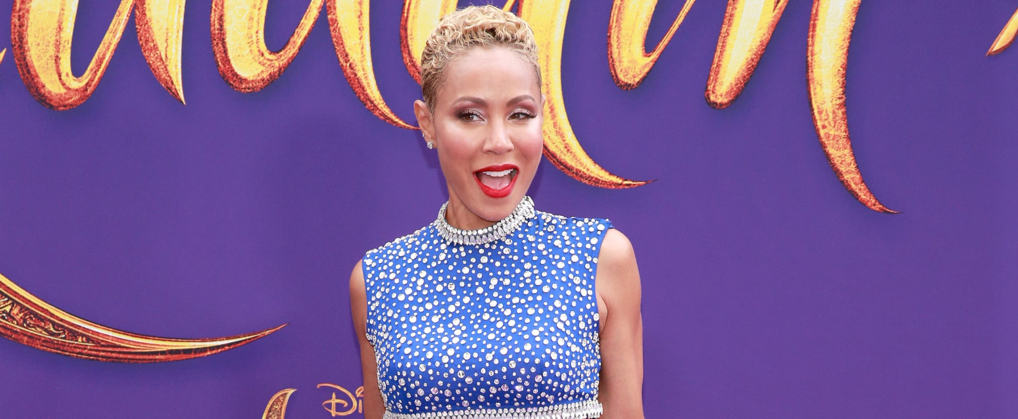 Jada Pinkett Smith's Genie Outfit at Aladdin Premiere